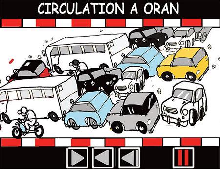 Circulation à Oran - Oran - Gagdz.com