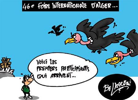 46e foire internationale d'Alger - Belkacem - Le Courrier d'Algérie, Dessins et Caricatures - Gagdz.com