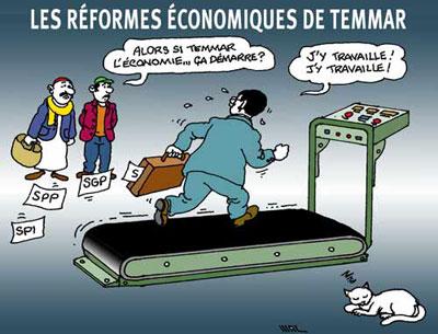 Les réformes économiques de Temmar - Maz - El Watan - Gagdz.com