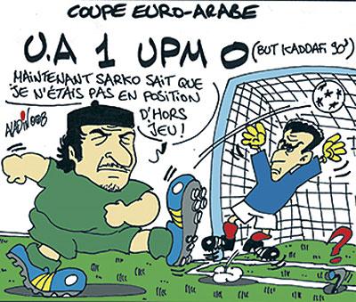 Coupe Euro-Arabe: U.A 1 UPM 0 - Aladin - Le Midi Libre - Gagdz.com