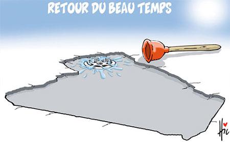 Retour du beau temps - Dessins et Caricatures, Le Hic - El Watan - Gagdz.com