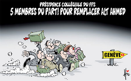Présidence collégiale du ffs: 5 membres du parti pour remplacer Ait Ahmed - présidence - Gagdz.com