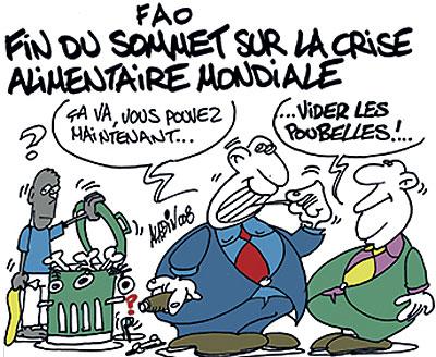 FAO: Fin du sommet sur la crise alimentaire mondiale - Aladin - Le Midi Libre - Gagdz.com