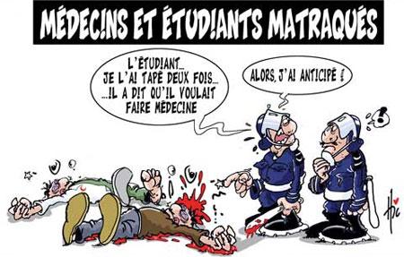 Médecins et étudiants matraqués - Le Hic - El Watan - Gagdz.com