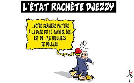 L'état rachète Djezzy - Etats - Gagdz.com