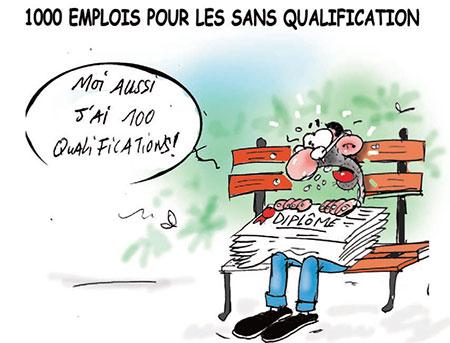 1000 emplois pour les sans qualification - qualification - Gagdz.com