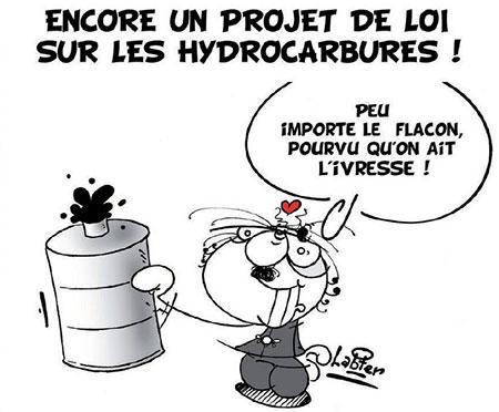 Encore un projet de loi sur les hydrocarbures - projet - Gagdz.com