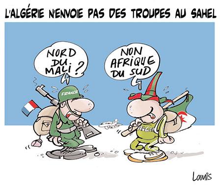 L'Algérie n'envoie pas de troupes au sahel - troupes - Gagdz.com