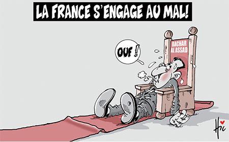 La France s'engage au Mali - Dessins et Caricatures, Le Hic - El Watan - Gagdz.com