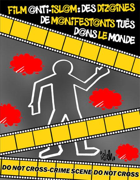 Film anti-islam: Des dizaines de manifestants tués dans le monde - Dessins et Caricatures, Islem - Le Temps d'Algérie - Gagdz.com