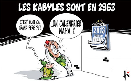 Les Kabyles sont en 2963 - Dessins et Caricatures, Le Hic - El Watan - Gagdz.com
