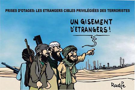 Prises d'otages: Les étrangers cibles privilégiées des térroristes - étrangers - Gagdz.com