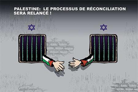 Palestine: Le processus de réconciliation sera relancé - réconciliation - Gagdz.com