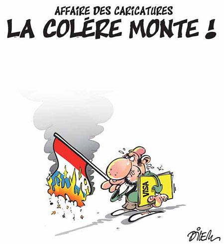 Affaire des caricatures: La colère monte - Colère - Gagdz.com