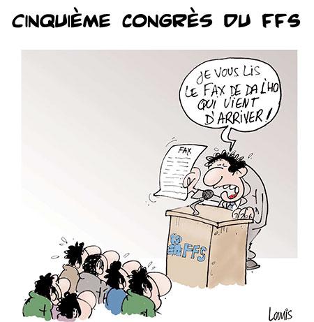 Cinquième congrès du FFS - congrès - Gagdz.com
