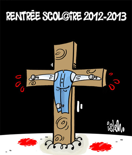 Rentrée scolaire 2012-2013 - Dessins et Caricatures, Islem - Le Temps d'Algérie - Gagdz.com