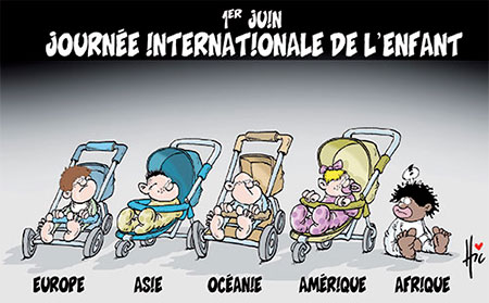 1er juin: Journée internationale de l'enfant - Dessins et Caricatures, Le Hic - El Watan - Gagdz.com
