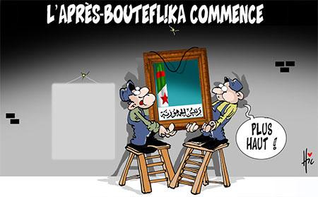 L'après Bouteflika commence - Dessins et Caricatures, Le Hic - El Watan - Gagdz.com
