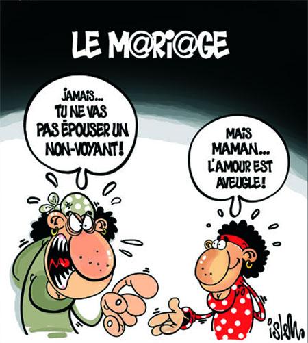 Le mariage - Dessins et Caricatures, Islem - Le Temps d'Algérie - Gagdz.com