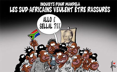 Inquiets pour Mandela: Les sud-africains veulent être rassurés - Mandela - Gagdz.com
