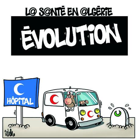 La santé en Algérie: Evolution - Dessins et Caricatures, Islem - Le Temps d'Algérie - Gagdz.com