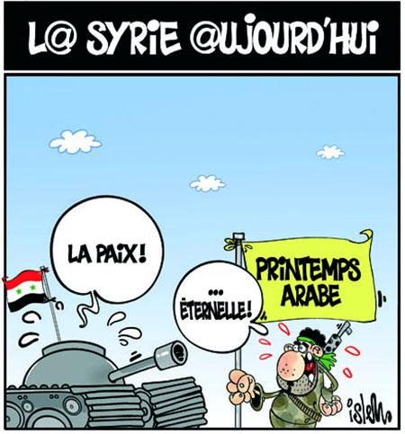 La Syrie aujourd'hui - Dessins et Caricatures, Lounis Le jour d'Algérie - Gagdz.com