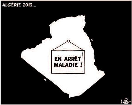 Algérie 2013 - Dessins et Caricatures, Vitamine - Le Soir d'Algérie - Gagdz.com