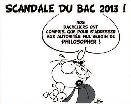 Scandale du bac 2013 - Dessins et Caricatures, Vitamine - Le Soir d'Algérie - Gagdz.com