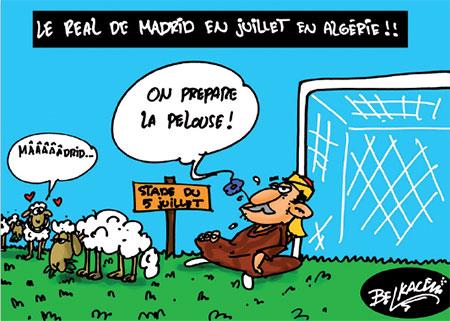 Le real de Madrid en juillet en Algérie - real - Gagdz.com