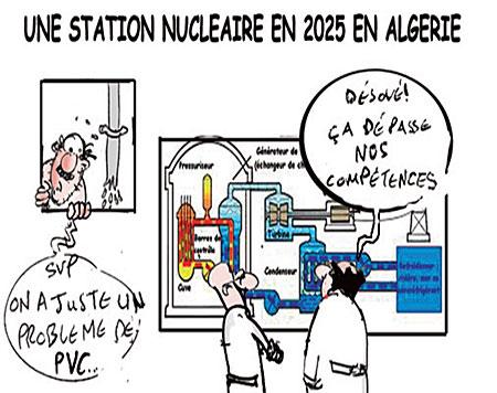 Une station nucléaire en 2025 en Algérie - nucléaire - Gagdz.com