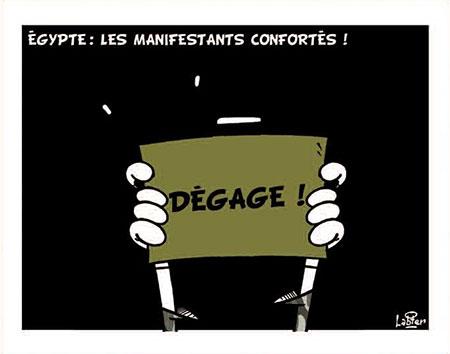 Egypte: Les manifestants confortés - Dessins et Caricatures, Vitamine - Le Soir d'Algérie - Gagdz.com