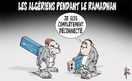 Les Algériens pendant le ramadhan - Dessins et Caricatures, Le Hic - El Watan - Gagdz.com
