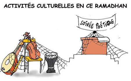 Activités culturelles en ce ramadhan - Dessins et Caricatures, Jony-Mar - La voix de l'Oranie - Gagdz.com