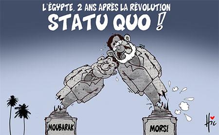 L'Egypte 2 ans après la révolution - révolution - Gagdz.com