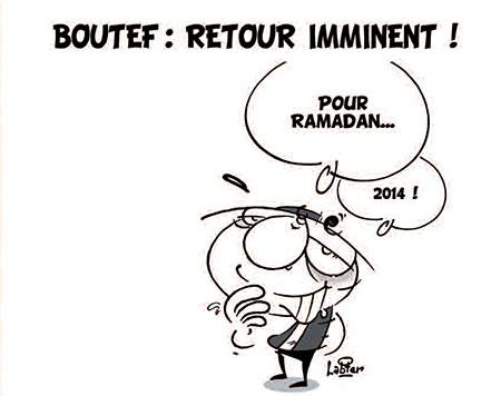 Boutef: Retour imminent - Dessins et Caricatures, Vitamine - Le Soir d'Algérie - Gagdz.com