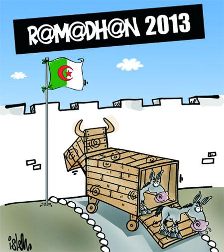 Ramadhan 2013 - Dessins et Caricatures, Islem - Le Temps d'Algérie - Gagdz.com