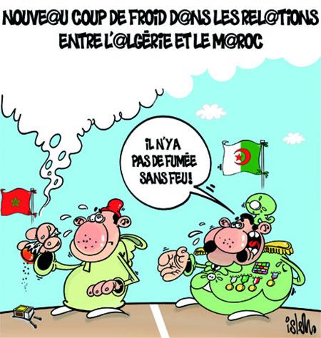 Nouveau coup de froid dans les relations entre l'Algérie et le Maroc - Dessins et Caricatures, Islem - Le Temps d'Algérie - Gagdz.com