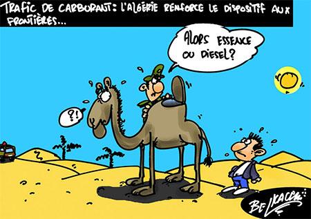 Trafic de carburant: L'Algérie renforce le dispositif aux frontières - carburant - Gagdz.com