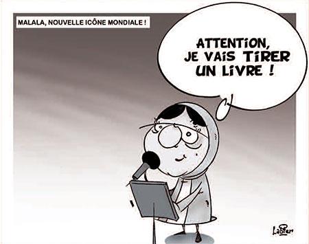 Malala, nouvelle icône mondiale - Dessins et Caricatures, Vitamine - Le Soir d'Algérie - Gagdz.com