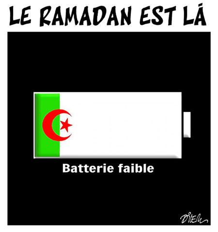 Le ramadan est là - Dessins et Caricatures, Dilem - Liberté - Gagdz.com
