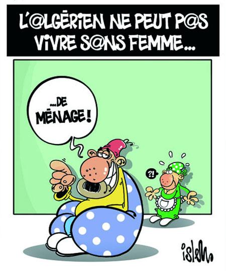 L'algérien ne peut pas vivre sans femme - femme - Gagdz.com