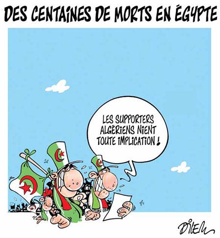 Des centaines de morts en Egypte - Dessins et Caricatures, Dilem - Liberté - Gagdz.com