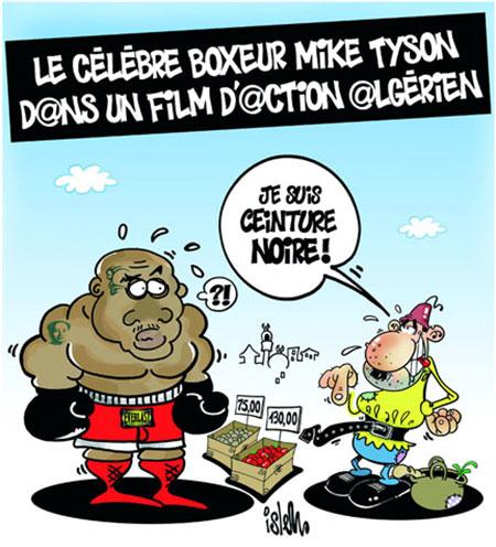 Le célèbre boxeur Mike Tyson dans un film d'action algérien - film - Gagdz.com