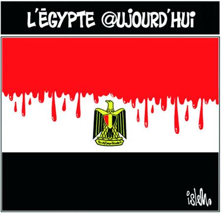 L'Egypte aujourd'hui - Dessins et Caricatures, Islem - Le Temps d'Algérie - Gagdz.com