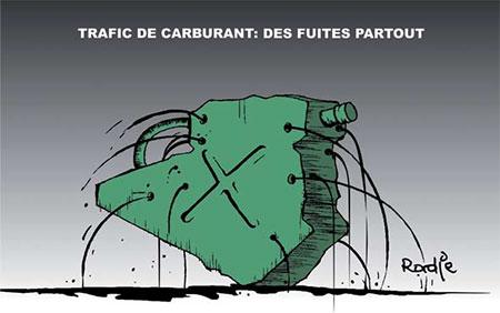 Trafic de carburant: Des fuites partout - carburant - Gagdz.com