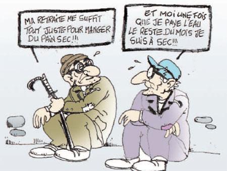 Retraite - Dessins et Caricatures, Hawari - La Tribune des Lecteurs - Gagdz.com