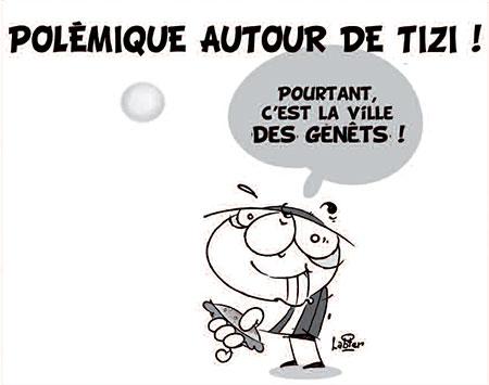 Polémique autour de Tizi - Dessins et Caricatures, Vitamine - Le Soir d'Algérie - Gagdz.com