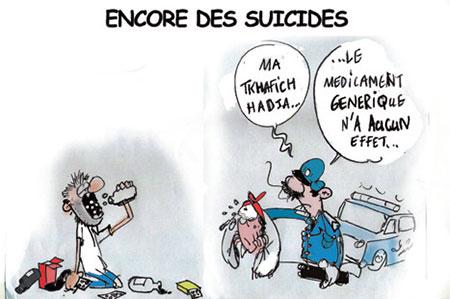 Encore des suicides - Jony-Mar - La voix de l'Oranie - Gagdz.com