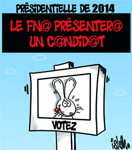 Présidentielle de 2014: Le fln présentera un candidat - Dessins et Caricatures, Islem - Le Temps d'Algérie - Gagdz.com