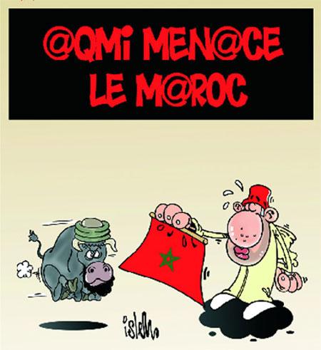 Aqmi menace le Maroc - Dessins et Caricatures, Islem - Le Temps d'Algérie - Gagdz.com